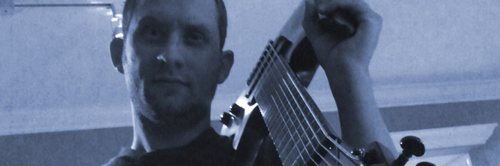 "Matt ""Brokenstr1ngs"" Smith, guitarist in instrumental prog-rock band Set Phasers To Prog!"